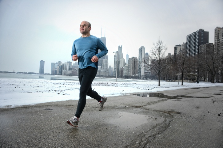 Age is not a factor while running