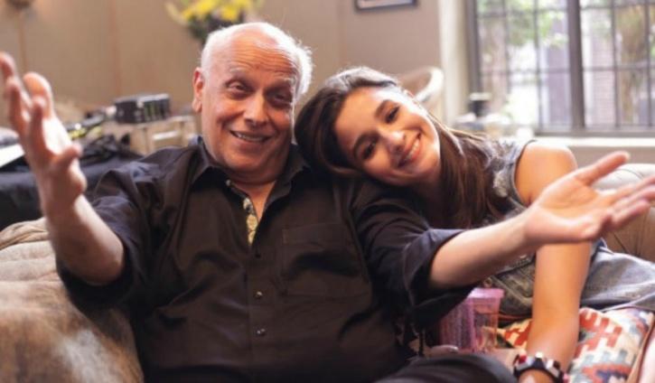 Alia Bhatt and Mahesh Bhatt