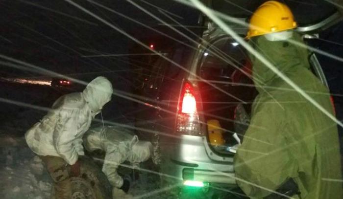 Blizzard hits Arunachal Pradesh