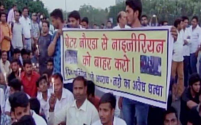 attack on Nigerians in Noida