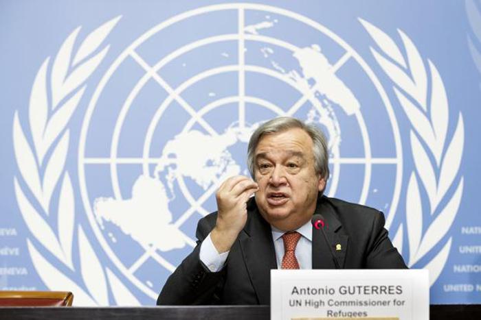 secretary general Antonio Gutterres