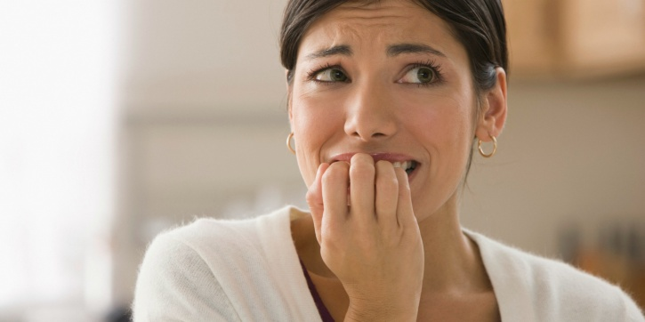 Biting nails more than anxiety. Skews towards perfectionism