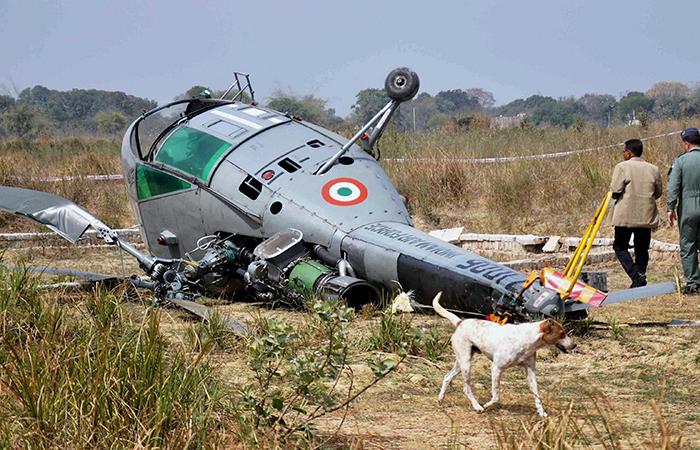 Chetak Helicopter Crash