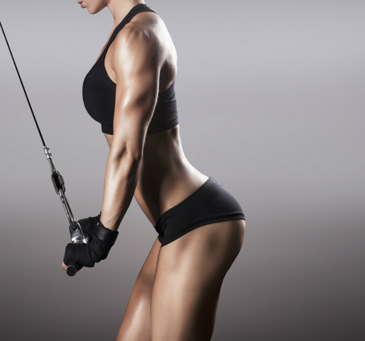 Weight training can sculpt and tone a woman more aesthetically