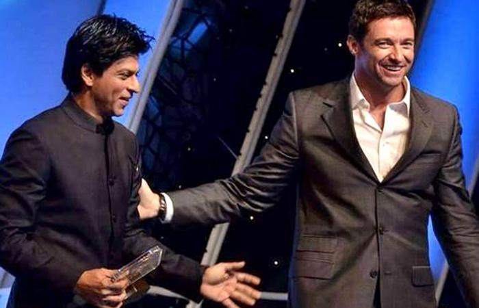 Shah Rukh Khan and Hugh Jackman