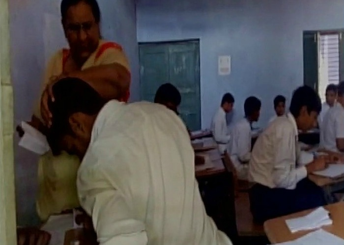 Not Just Bihar Or UP Now Video Of Mass Cheating In Exam Surfaces From Haryana