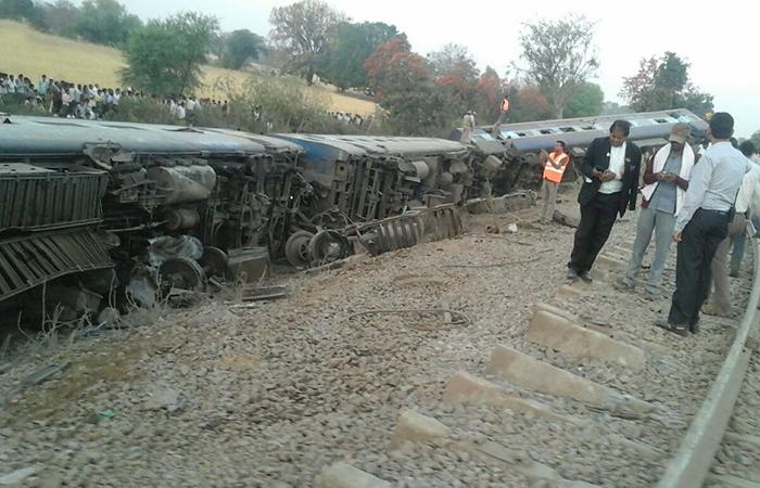 Mahakaushal Express Derail