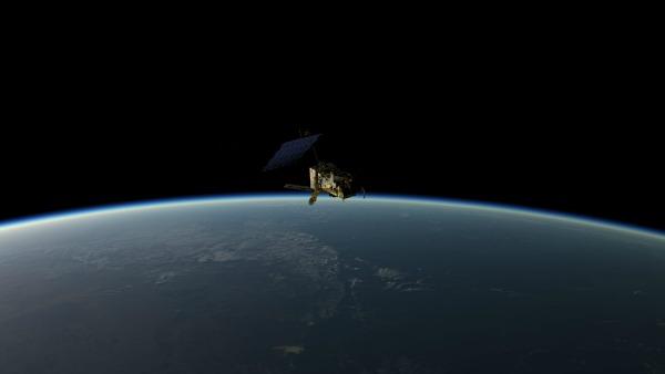 Earth orbit-embed