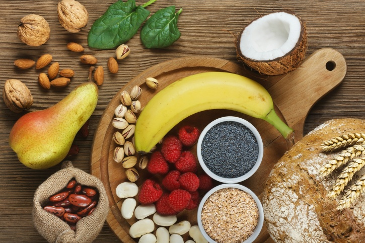 add fibre to your diet keeps you satiated