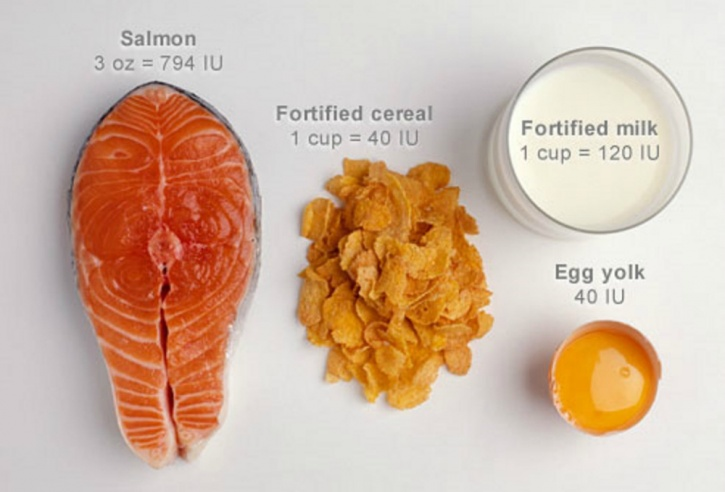 increase your intake of vitamin D-rich foods