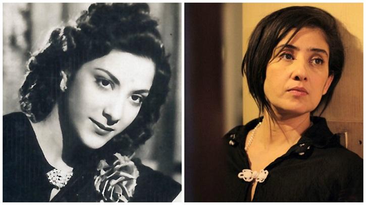 Nargis Dutt and Manisha Koirala