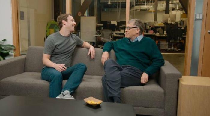 Zuckerberg and Gates