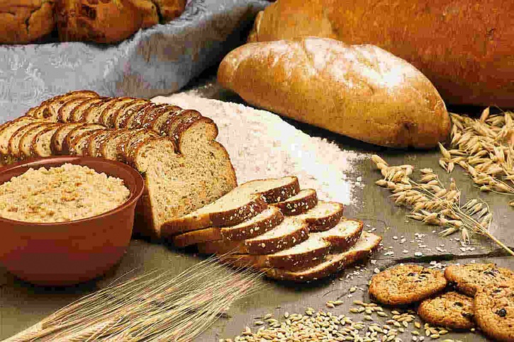 Increase consumption of fibre rich foods