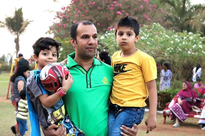 Humans of Bombay dad
