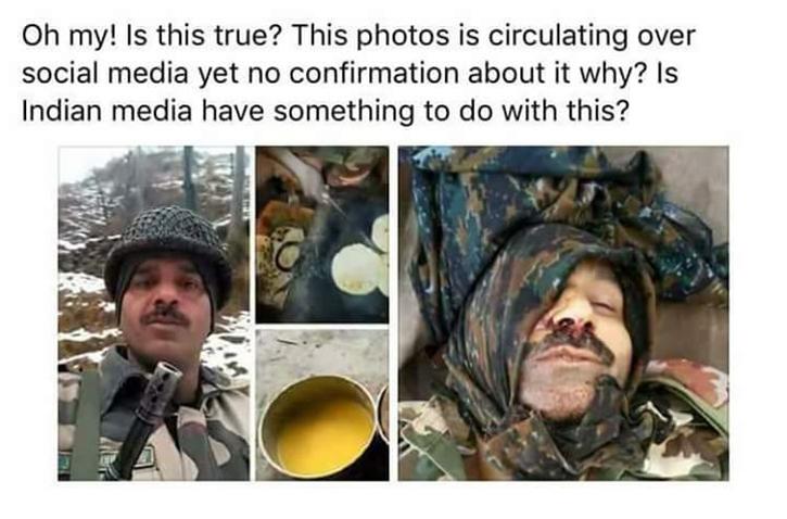 Tej Bahadur fake death