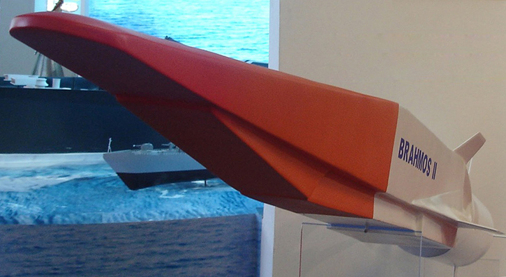 Brahmos-2 hypersonic missile
