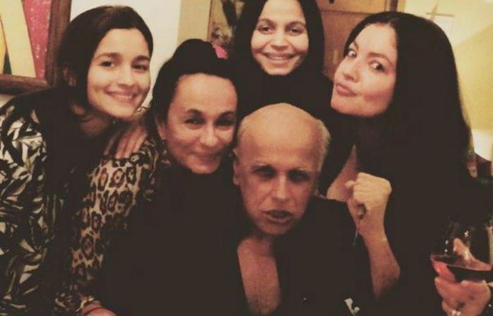Mahesh Bhat with Family