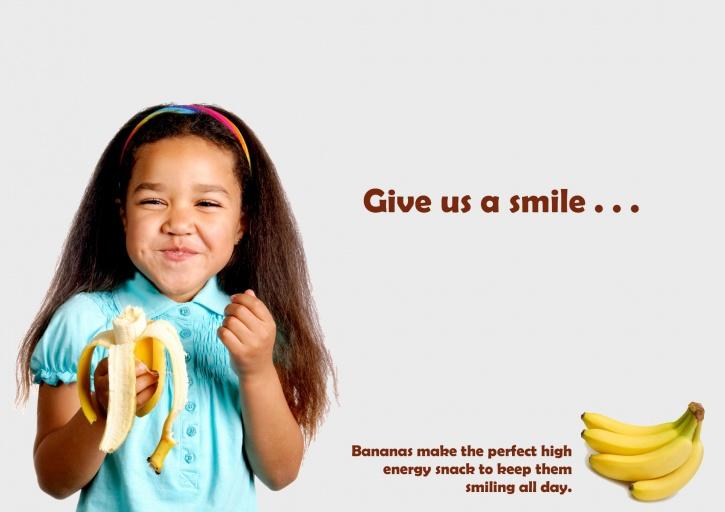 Healthy eating advertised everywhere