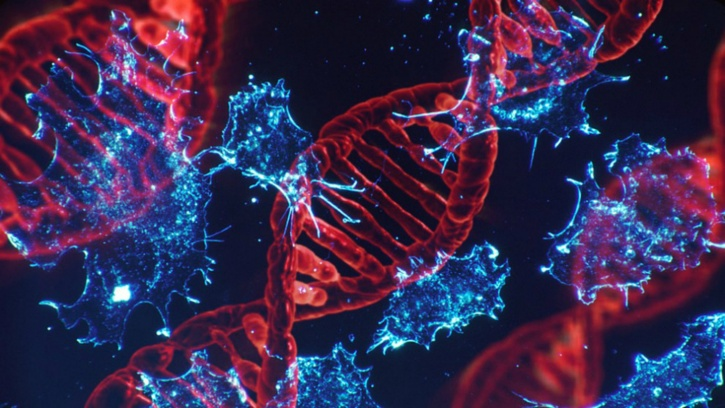 Healthy cells make unavoidable mistakes (typos) when they multiply