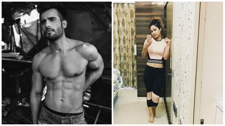 Karan Tacker and Hina Khan