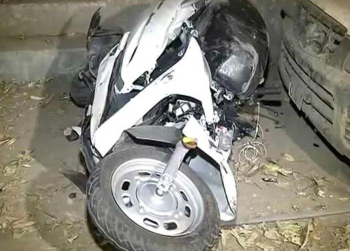 Delhi Mercedes Hit-And-Run