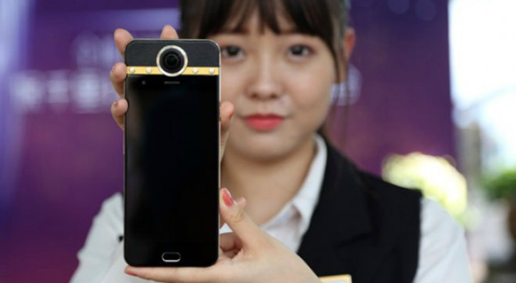 Protruly Darling smartphone with 360 degree camera n diamonds