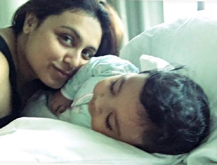 Rani Mukerji With Adira