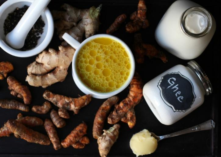 Recipe for making turmeric milk