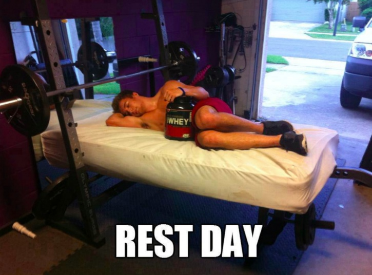 The more rest you get the better your results