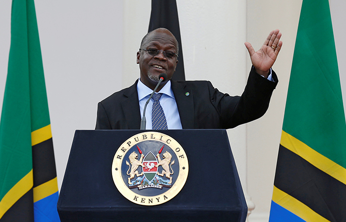 Tanzanian President John Magufuli