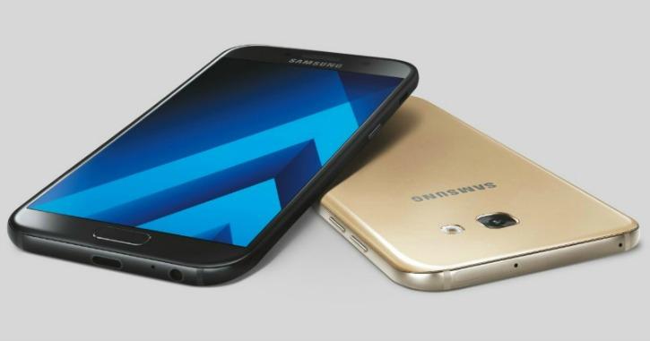 Samsung Galaxy A7 & Samsung Galaxy A5 Android Smartphones