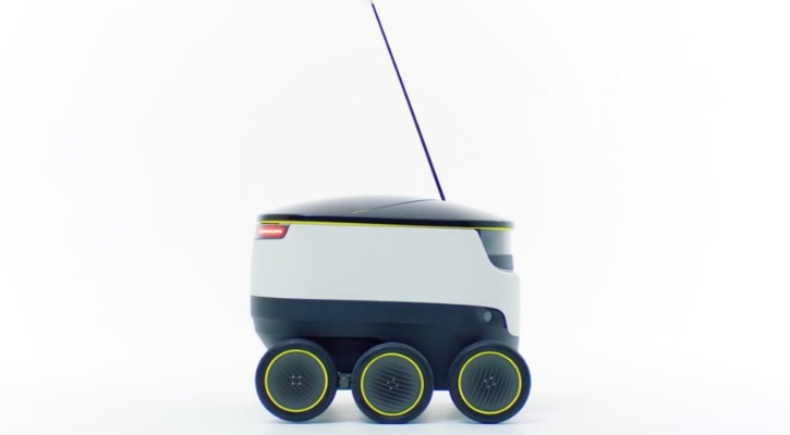 starship technology self-driving delivery robot