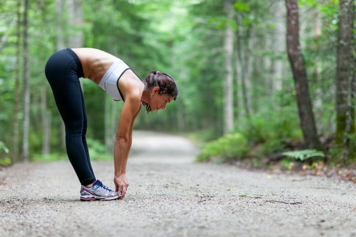 Stretching to relieve sore muscles