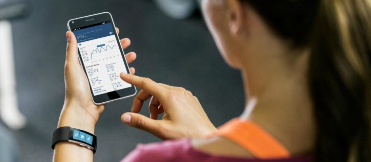 mapping your fitness results