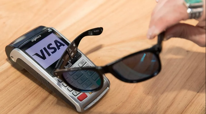 VISA's Upcoming Sunglasses Replace Credit Cards, Can Pay Your Bills Wirelessly