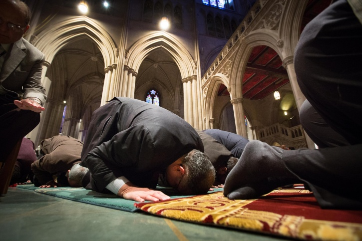 Islamic prayer position for well-being