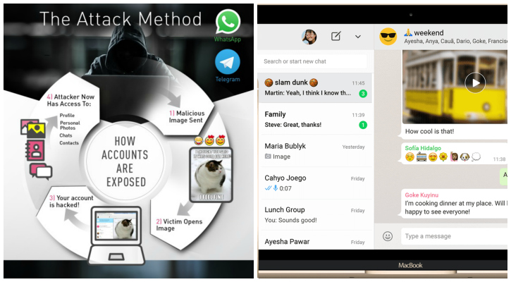 How the hack works on WhatsApp Web - Check Point Software
