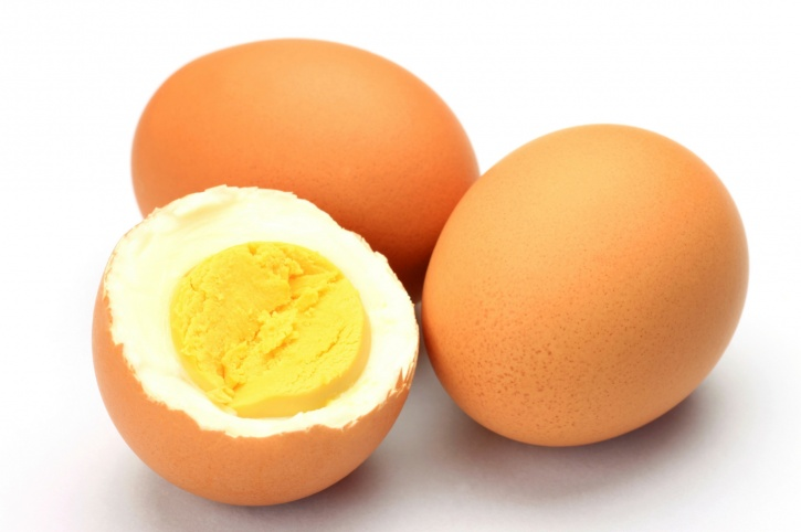 Naturally occurring saturated fats in whole eggs