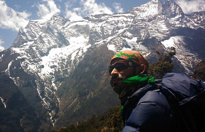 Climber Ravi Kumar