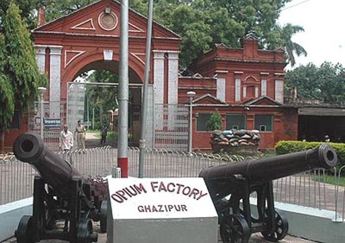 Oldest Opium Factory Ghazipur