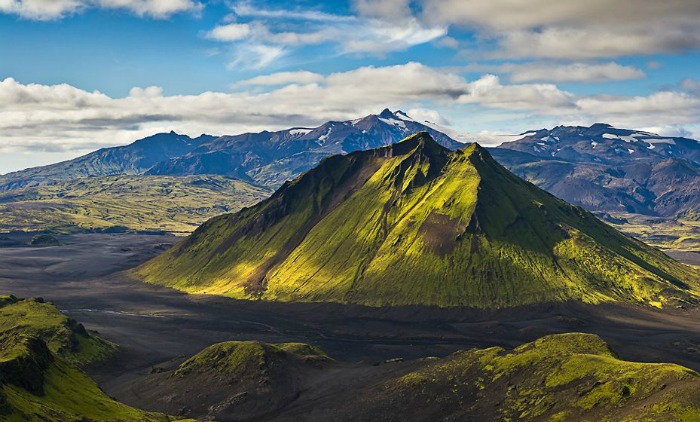 The Maelifell Volcano, Iceland