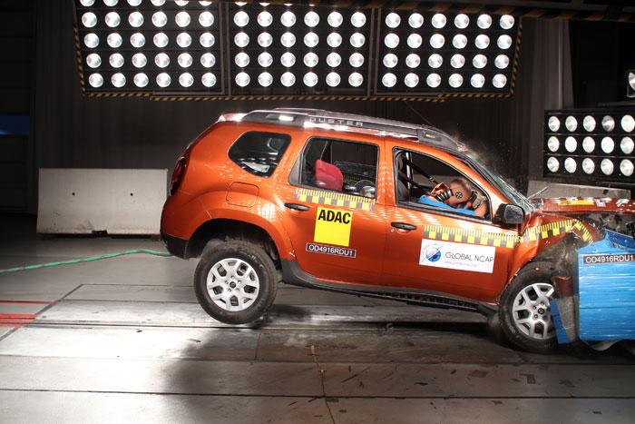 Renault Duster gets zero stars in crash test