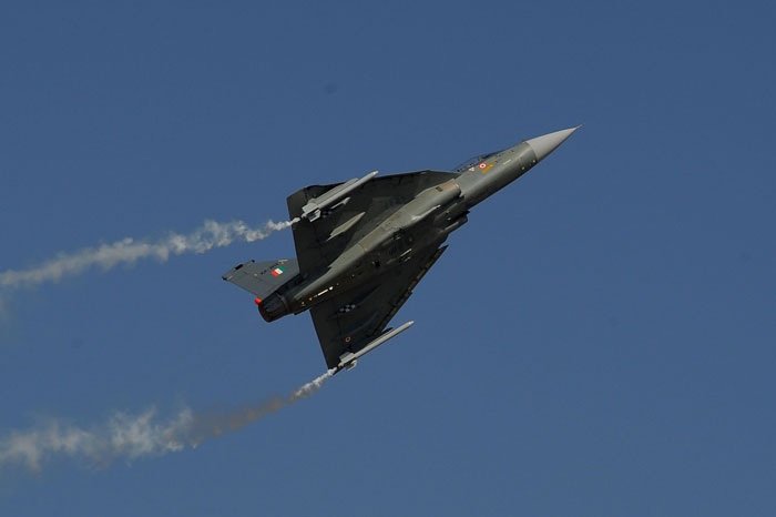 Tejas successfully test fires beyond visual range missile