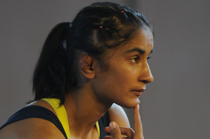 Sakshi & I benefit by practicing with each other, says wrestler Vinesh Phogat