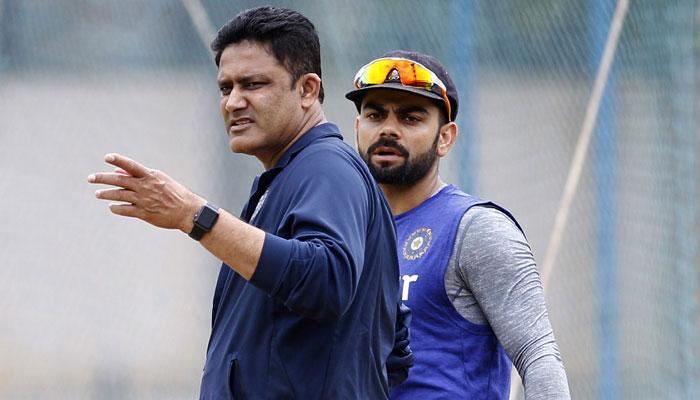 Virat Kohli & Anil Kumble
