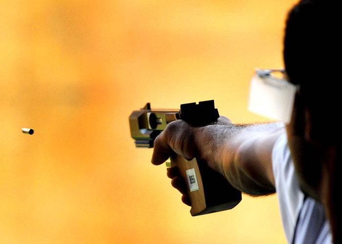 Olympian shooters Gurpreet Singh