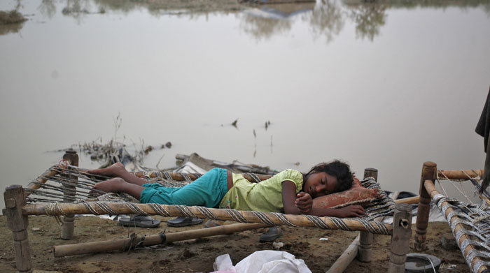 Nearly 2.8 million people internally displaced in India