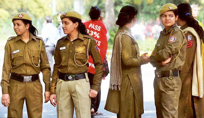 Women In Khaki
