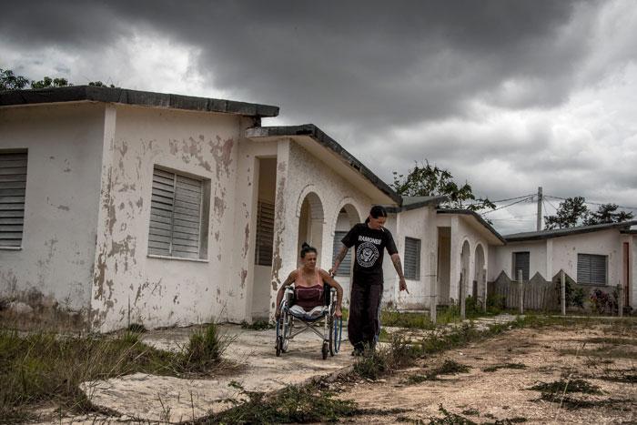 AIDS patient Gerson Govea Cuba