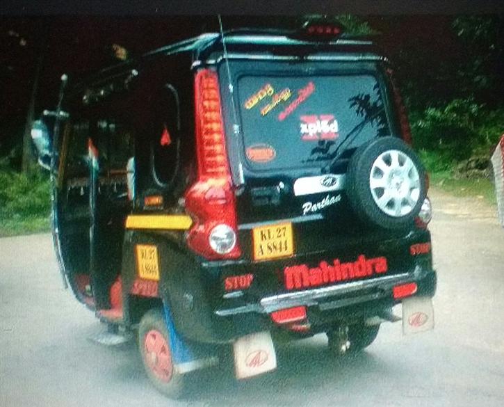 Mahindra rikshaw